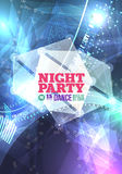 Night party Vector Royalty Free Stock Images