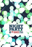 Night party Vector Royalty Free Stock Image