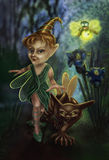 Night patrol fairies Stock Photos