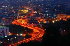 Night pattaya city of Thailand Stock Photography