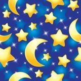 Night pattern Royalty Free Stock Photos