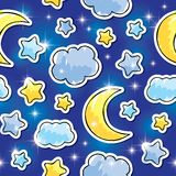 Night pattern Stock Images