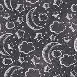 Night pattern Royalty Free Stock Photo