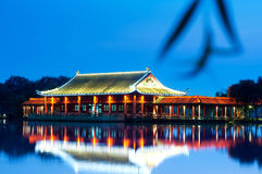 The Chinese ancient architecture Royalty Free Stock Photo