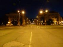 Night Photo historical sight Gočár Stock Photo