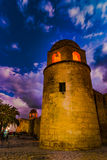 Night photo of Mosque in Sousse. Stock Images