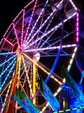 Ferris Wheel in the Night royalty free stock photography