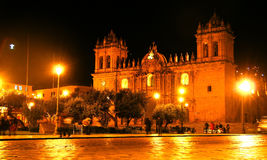 Plaza de Armas de Cusco, Peru Royalty Free Stock Images