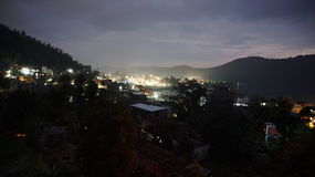 Night in Pokhara Stock Photo