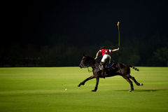 Night Polo Royalty Free Stock Image