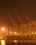 Night port Royalty Free Stock Photos