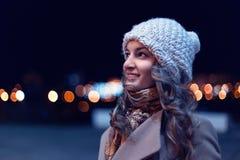 Night portrait Stock Photos