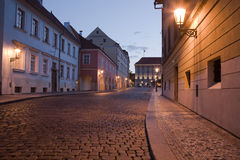 Night Prague Stock Photo