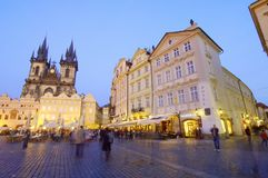 Night Prague Royalty Free Stock Images