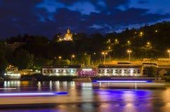 Night Prague Royalty Free Stock Image