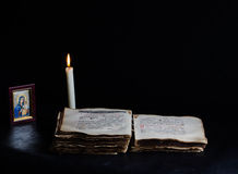 Night Prayer Royalty Free Stock Photography