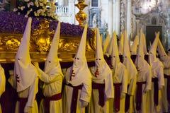 Night procession during Semana Santa Royalty Free Stock Photo