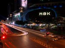 Night pulse of Bangkok. Royalty Free Stock Images