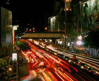 Night pulse of Bangkok. Stock Image