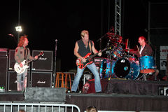 Night Ranger band in concert Stock Photo