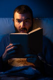 Night Reading Royalty Free Stock Photos