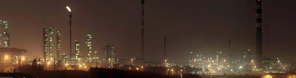 night refinery Στοκ φωτογραφία με δικαίωμα ελεύθερης χρήσης
