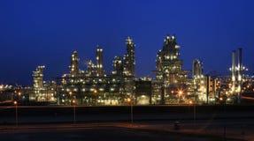 night refinery Στοκ εικόνες με δικαίωμα ελεύθερης χρήσης