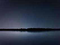 Night reflection, Blue Serenity night Royalty Free Stock Photo