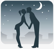 Night rendezvous Stock Image