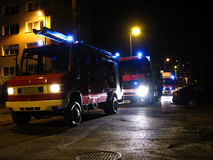 Night Rescue Royalty Free Stock Photography