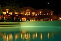 Night resort Stock Photography