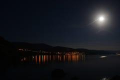 Night  on resort Stock Image
