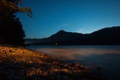 Night river Stock Image