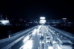 night road Στοκ εικόνα με δικαίωμα ελεύθερης χρήσης