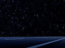 Night Road Abstract Background Royalty Free Stock Photography