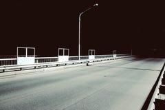 Night road Royalty Free Stock Photos