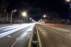 The night road Royalty Free Stock Photography