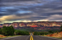 Night road from Zion Stock Photos