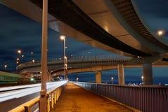 Night roads Royalty Free Stock Photos
