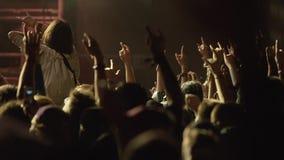 Night Rock Concert stock footage