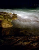 Night on the rocks Royalty Free Stock Image