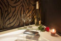 Night of romance Stock Images