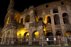 Night in Rome Stock Images