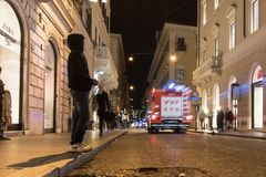 Night in Rome Stock Photos