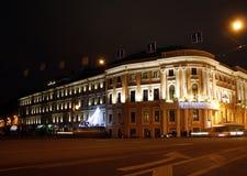 Night Saint Petersburg Stock Images