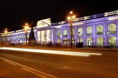 Night Saint Petersburg Royalty Free Stock Photos