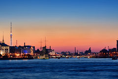 Night Saint-Petersburg Stock Image