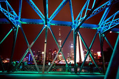 Night scape of Shanghai Stock Image