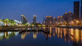 Night scape of Shanghai Royalty Free Stock Photo