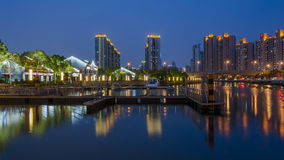 Night scape of Shanghai Stock Images